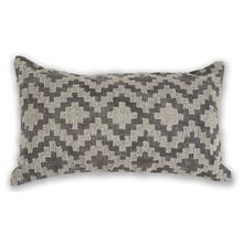"""See Details - Pillow L326 Grey Scottsdale 12"""" X 20"""""""