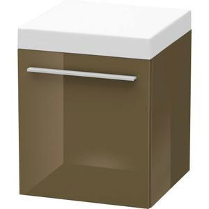 Mobile Storage Unit, Olive Brown High Gloss (lacquer)