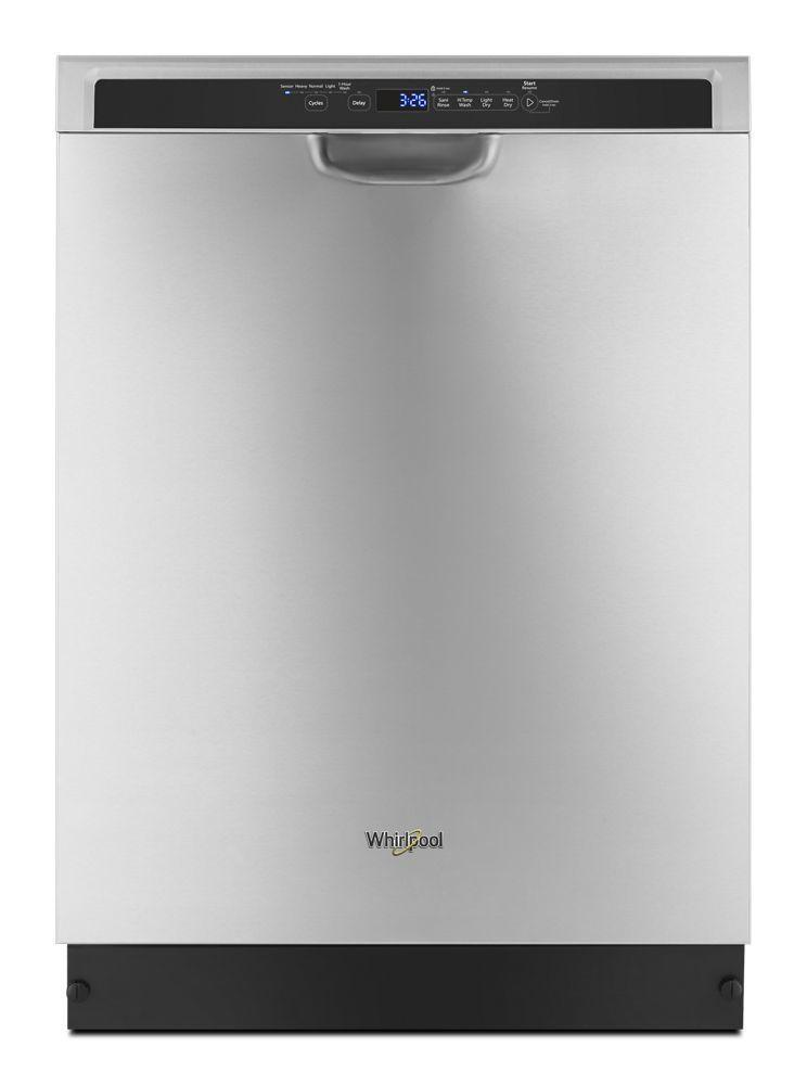 WhirlpoolStainless Steel Dishwasher With 1-Hour Wash Cycle