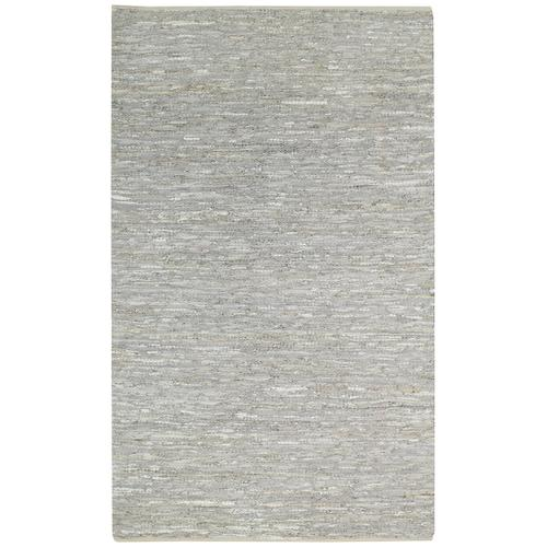 Lariat Pale Grey Flat Woven Rugs