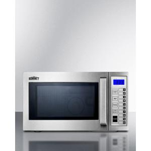Commercially Approved Microwave With Stainless Steel Exterior and Interior Product Image