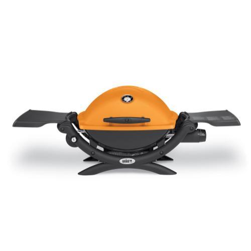 Weber - Q™ 1200™ LP GAS GRILL - ORANGE