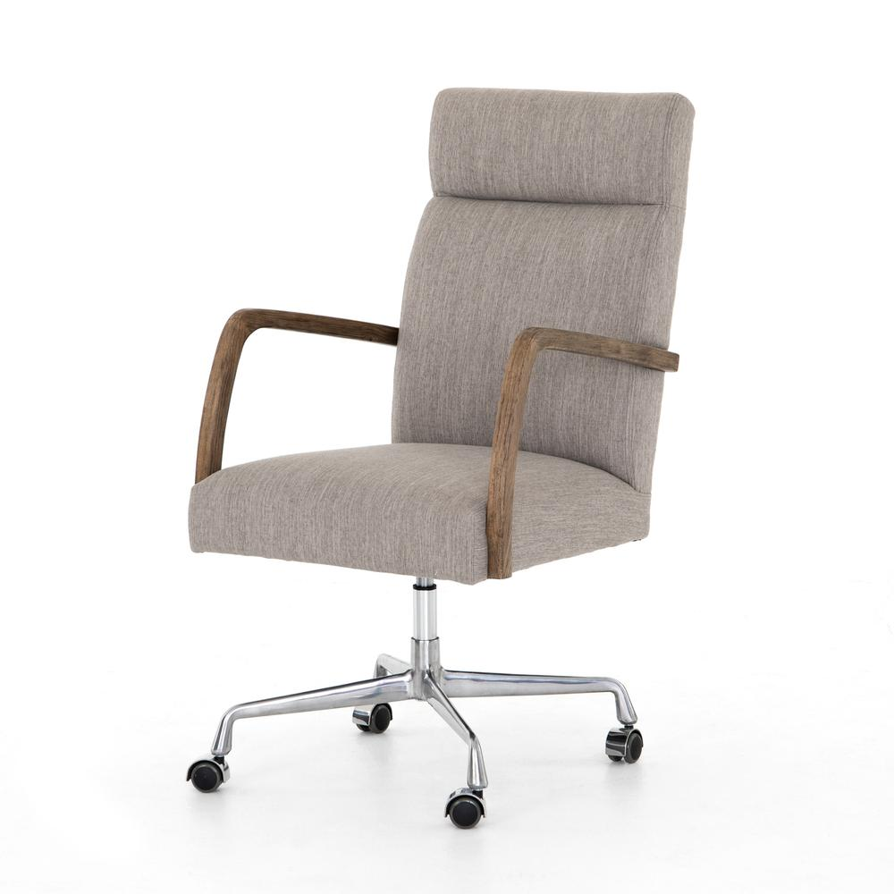 Savile Flannel Cover Bryson Desk Chair