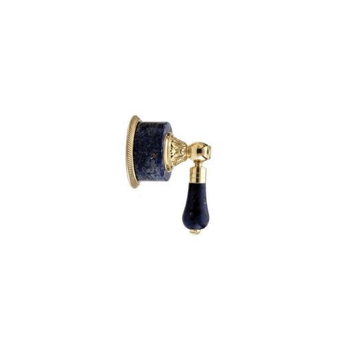 VERSAILLES Volume Control/Diverter Trim 2PV242A - Satin Gold with Satin Nickel