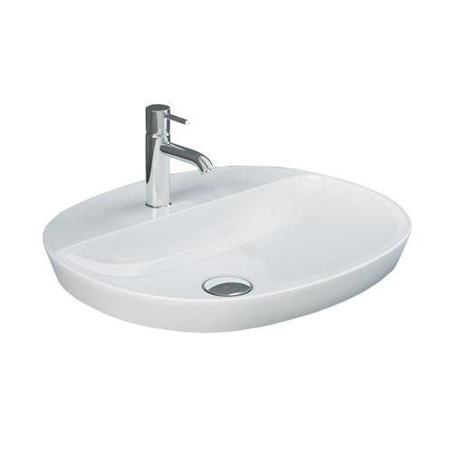 Variant Oval Drop-In Basin with Ledge