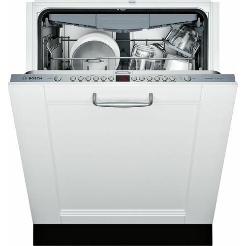 "Bosch - ADA 24"" 800 Series Custom Panel, 6/5 Cycles, 3rd Rck, 44 dBA, RckMatic,15 Pl Stgs, InfoLight - CP"