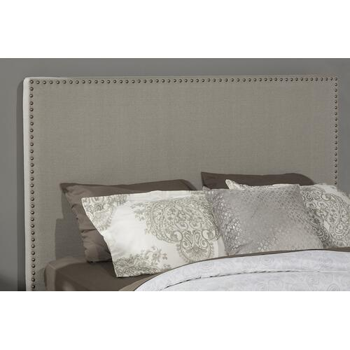 Megan Queen Bed - Dove Gray