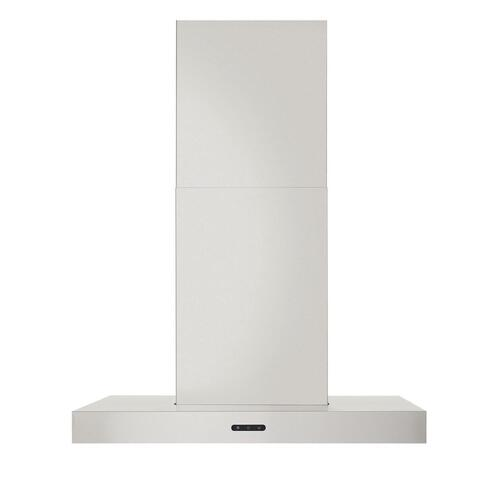 Broan® 24-Inch Convertible T-Style Wall Mount Chimney Range Hood, 400 CFM, Stainless Steel