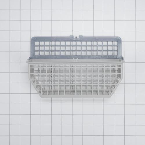 Whirlpool - Dishwasher Silverware Basket, Grey