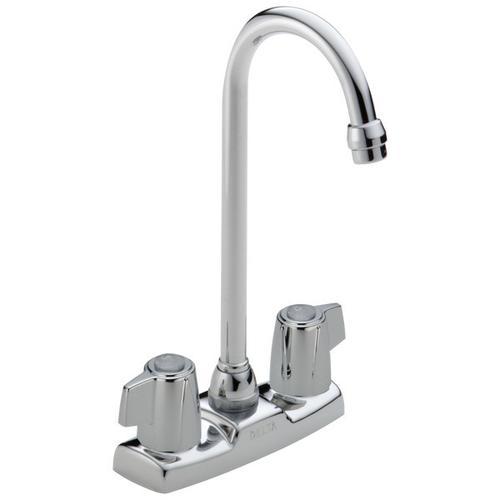 Chrome Two Handle Bar / Prep Faucet