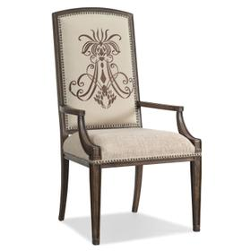 Dining Room Rhapsody Insignia Arm Chair - 2 per carton/price ea