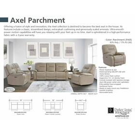 AXEL - PARCHMENT Power Reclining Collection