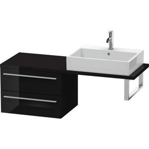 Low Cabinet For Console Compact, Black High Gloss (lacquer)