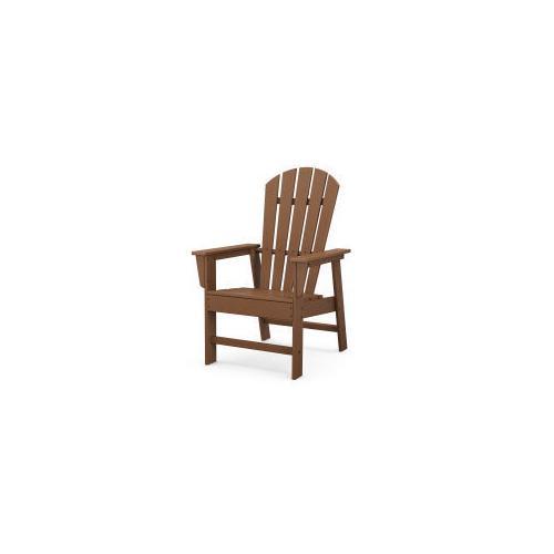 Polywood Furnishings - South Beach Casual Chair in Teak