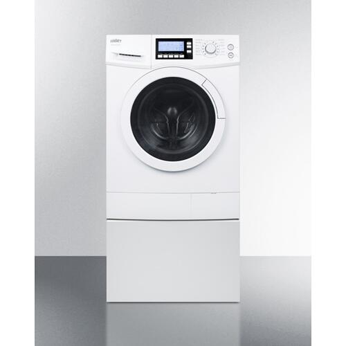Pedestal To Raise Height of Select Washer/dryers for Easier Accessibility
