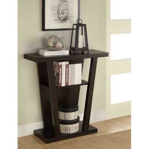 Cappuccino Accent Console Table