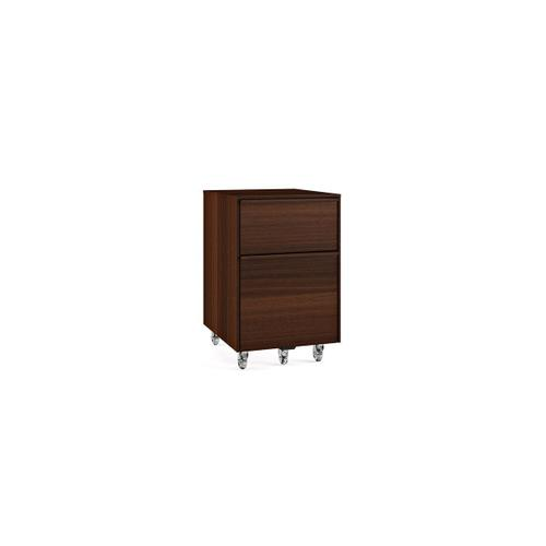 Mobile File Pedestal 6207 in Chocolate Stained Walnut