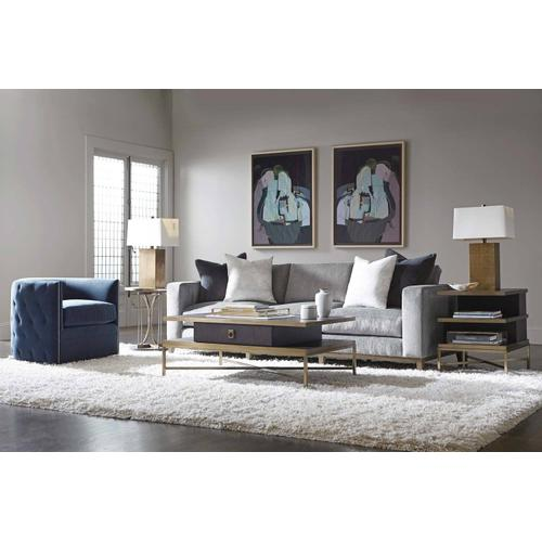 Beaumont Round Drink Table in Charcoal (792)