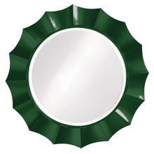 View Product - Corona Mirror - Glossy Hunter Green