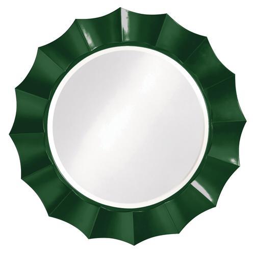 Howard Elliott - Corona Mirror - Glossy Hunter Green
