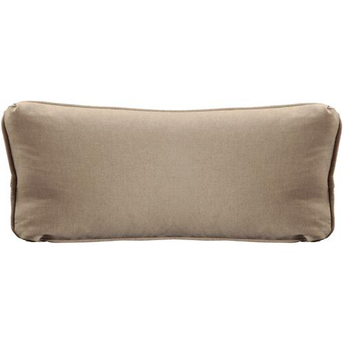 "Throw Pillows Knife Edge Kidney w/welt (13"" x 27"")"