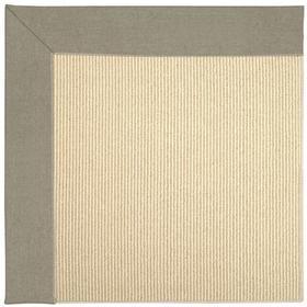 Creative Concepts-Beach Sisal Canvas Taupe - Rectangle - Custom