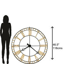 Howard Miller Avante Oversized Wall Clock 625631