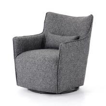 Bristol Charcoal Cover Kimble Swivel Chair