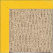 "Creative Concepts-Cane Wicker Canvas Sunflower Yellow - Rectangle - 24"" x 36"""