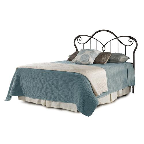 Casselton King Headboard With Frame, Black Pewter