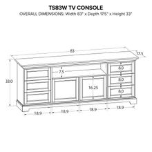 TS83W Custom TV Console