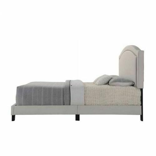 ACME Garresso Queen Bed - 26340Q - Fog Fabric