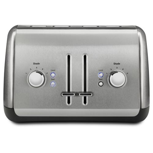 4-Slice Toaster with Manual High-Lift Lever Liquid Graphite