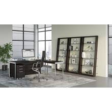 See Details - Eileen 5156 Leaning Shelf in Charcoal Stained Ash