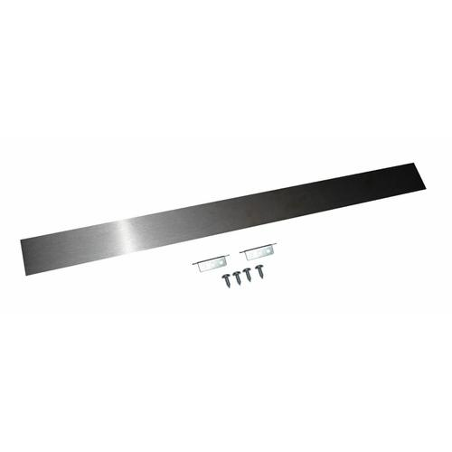 Slide-In Range Rear Filler Kit, Stainless Steel