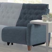 See Details - CHELSEA - WILLOW BLUE Power Right Arm Facing Recliner