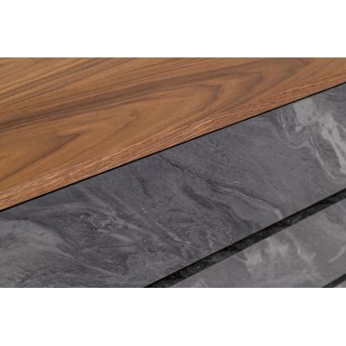 VIG Furniture - Nova Domus Metcalf - Mid-Century Walnut & Grey Dresser