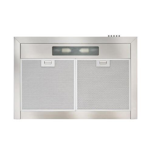 Broan® 36-Inch Convertible European Style Wall-Mounted Chimney Range Hood, 350 CFM, Stainless Steel