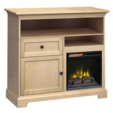 See Details - FT46F Extra Tall Fireplace Custom TV Console
