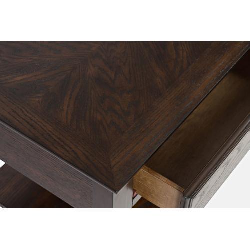 Espresso Sofa Table