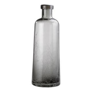 See Details - Ahab Bottle Vase Grey