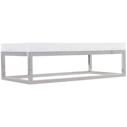 Aventura Rectangular Acrylic Cocktail Table
