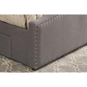 Kerstein Cal King Storage Bed Set - Orly Gray