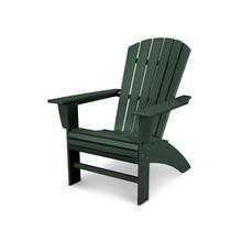 Green Nautical Curveback Adirondack Chair