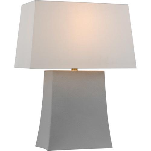 Visual Comfort - Chapman & Myers Lucera 26 inch 15.00 watt Porous White Table Lamp Portable Light, Medium