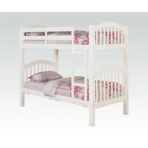 ACME Heartland Twin/Twin Bunk Bed - 02354_KIT - White