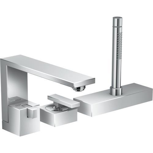 AXOR - Chrome 3-Hole Roman Tub Set Trim with 1.75 GPM Handshower