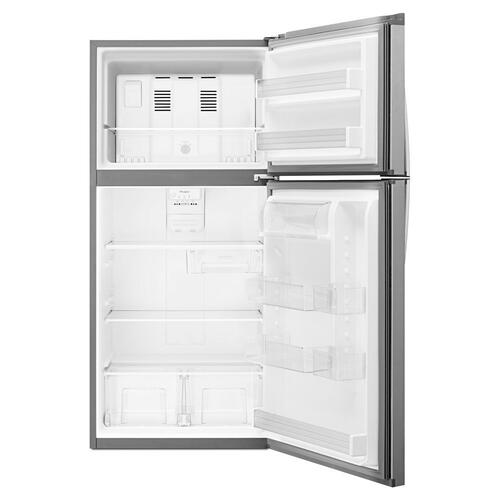 Whirlpool® 30-inch Wide Top-Freezer Refrigerator - EZ Connect Icemaker Kit Compatible- 19.2 cu. ft.