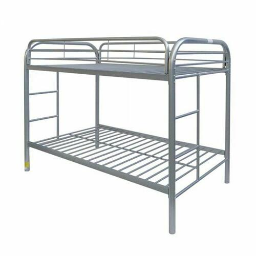 ACME Thomas Twin/Twin Bunk Bed - 02188SI - Silver