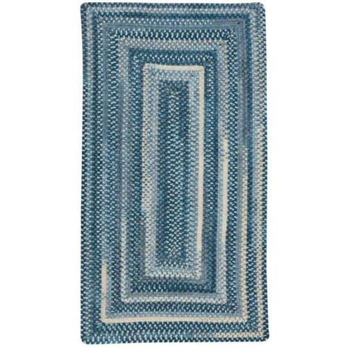 """Synergy Chambray - Oval - 20"""" x 30"""""""